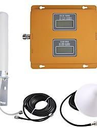 Недорогие -gsm / dcs мобильный телефон сигнал повторитель усилитель сигнала 900/1800 двойной диапазон