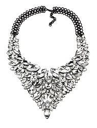 Недорогие -Жен. Синтетический алмаз Y Ожерелье - Свисающие Классика, гипербола Цвет радуги, Красный, Синий 48 cm Ожерелье Бижутерия 1шт Назначение Свадьба, Для вечеринок