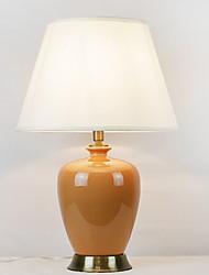abordables -Métallique / Moderne Décorative / Cool Lampe de Table Pour Chambre à coucher / Bureau / Bureau de maison Céramique 220V