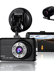 Недорогие -двойной объектив камеры камеры камеры dvr для драйверов полный hd 1080 p рекордер камера с ночным видением g-sensor