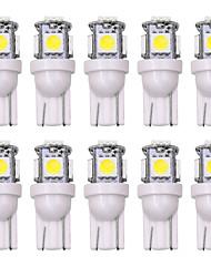 Недорогие -SO.K 10 шт. T10 Автомобиль Лампы 5 W 160 lm Светодиодная лампа Внутреннее освещение