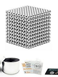 Недорогие -1000 pcs 3mm Магнитные игрушки Магнитные шарики Конструкторы Сильные магниты из редкоземельных металлов Неодимовый магнит Магнитный / Стресс и тревога помощи
