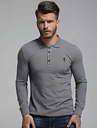 billige -Herre - Ensfarvet Gade Skjorte