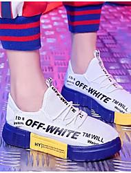 Недорогие -Жен. Сетка Весна & осень Спортивная обувь Беговая обувь На плоской подошве Белый / Черный / Красный / Черный / Желтый