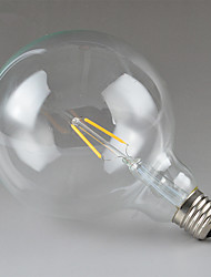 Недорогие -JIAWEN 1шт 2 W 240 lm E26 / E27 LED лампы накаливания G125 2 Светодиодные бусины Высокомощный LED Декоративная Тёплый белый 220-240 V