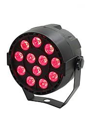 Недорогие -сценическое освещение привело 12 мини пластиковые номинальная лампа полноцветный три-в-одном витражная лампа ктв клуб атмосфера свет свадебный смешанный цвет лампы