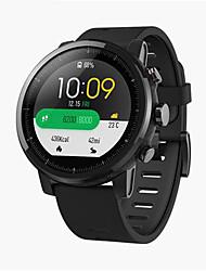 """Недорогие -xiaomi huami amazfit 2 smartwatch gps монитор частоты сердечных сокращений 512mb / 4gb водонепроницаемый 1.34 """"экран экрана спорта 2.5d глобальный"""
