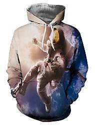 Недорогие -Вдохновлен KARNEVAL Косплей Аниме Косплэй костюмы Косплей футболка Человек / Новинки / Мода Толстовка Назначение Универсальные