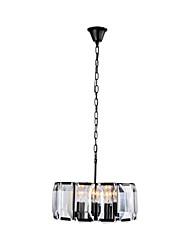 Недорогие -QINGMING® 4-Light Кристаллы Подвесные лампы Рассеянное освещение Окрашенные отделки Металл 110-120Вольт / 220-240Вольт Лампочки не включены / E26 / E27