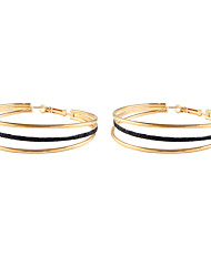 ราคาถูก -สำหรับผู้หญิง คลาสสิค Drop Earrings - ง่าย วินเทจ เครื่องประดับ สีทอง / สีเงิน สำหรับ ทุกวัน เทศกาล 1 คู่