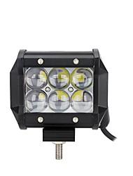 abordables -OTOLAMPARA 1 Pièce Aucune Automatique Ampoules électriques 30 W LED Haute Performance 3000 lm 6 LED Lampe de Travail Pour Ford / Chevrolet S10 / Silverado / Tundra Toutes les Années