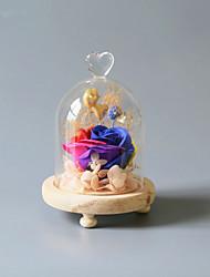 Недорогие -Не персонализированные Стекло Подарочные коробки Невеста / Жених / Свидетельница Свадьба / На каждый день -