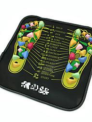 abordables -Pratique / Protection / Soulage la douleur Maquillage 1 pcs Plastique Carré Pied Maquillage Quotidien Portable Massage Cosmétique Accessoires de Toilettage