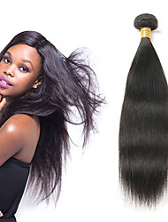 Недорогие -1 комплект Индийские волосы Прямой 8A Натуральные волосы Накладки из натуральных волос 10-26 дюймовый Ткет человеческих волос Мягкость Лучшее качество Новое поступление Расширения человеческих волос