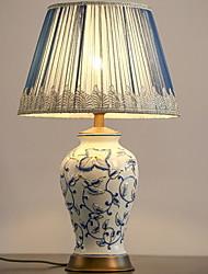 abordables -Traditionnel / Classique Design nouveau / Décorative Lampe de Table Pour Chambre à coucher / Bureau / Bureau de maison Céramique <36V