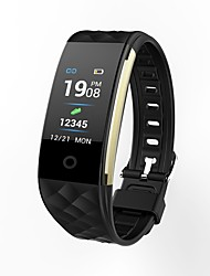 baratos -Indear S2/T20 Pulseira inteligente Android iOS Bluetooth Esportivo Impermeável Monitor de Batimento Cardíaco Tela de toque Podômetro Aviso de Chamada Monitor de Atividade Monitor de Sono Lembrete