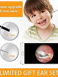 abordables -3.9mm 3 en 1 pc version hd endoscope oreille orale orale 1500mm - ruban
