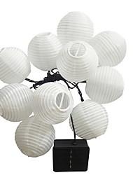 hesapli -5m Dizili Işıklar 20 LED'ler Sıcak Beyaz Dekorotif Solární napájení 1set