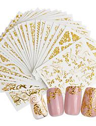 Недорогие -20 pcs 3D наклейки на ногти Креатив маникюр Маникюр педикюр Лучшее качество модный / Мода Повседневные