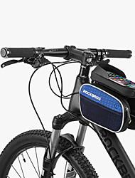 Недорогие -ROCKBROS Сотовый телефон сумка / Бардачок на раму 6 дюймовый Велоспорт для Другие же размера телефоны Синий