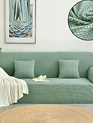 Недорогие -Накидка на диван Однотонный Активный краситель Полиэстер Чехол с функцией перевода в режим сна