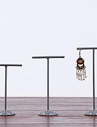 levne -Nerez Obdélníkový Nový design / Půvab Domov Organizace, 1 sada Nové háčky / Organizéry na šperky