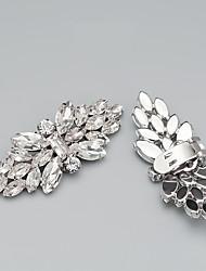 cheap -2pcs Glasses / Rhinestones Decorative Accent Women's All Seasons Wedding / Birthday Silver / Bowknot