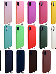 6b116a65c Case For Apple iPhone XR / iPhone XS Max Frosted Back Cover Solid Colored  Soft TPU for iPhone XS / iPhone XR / iPhone XS Max