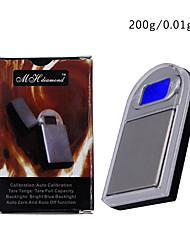 abordables -200g/0.01g Portable Échelle de bijoux numérique La vie à la maison