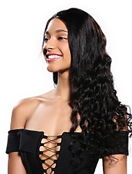preiswerte -Cabello Natural Remy 6x13 Verschluss Perücke Bob Bubikopf Stil Brasilianisches Haar Wogende Wellen Perücke 130% Haardichte Damen Natürlich Komfortabel 100% Jungfrau Eisstockschießen Natürlich Damen