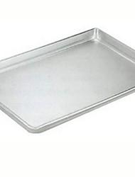 Недорогие -Инструменты для выпечки Металл Многофункциональный Для приготовления пищи Посуда Квадратный Поднос 1шт