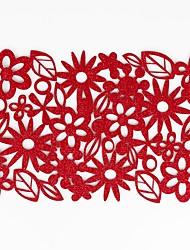 Недорогие -Домашний многофункциональный творческий зеленый украшение цветочные поделки полый полиэстер изоляционная подкладка против скольжения против ожогов столовых