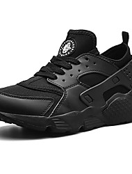 cheap -Men's Comfort Shoes Mesh / Tissage Volant Spring &  Fall Sporty / Casual Athletic Shoes Running Shoes Non-slipping Black / Red / Green