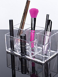 levne -Úložný prostor Organizace Kosmetický make-up organizátor Akrylát Čtvercový Odkryté