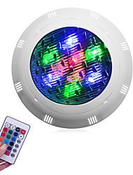 Недорогие -1шт 9 W / 12 W Подводное освещение Водонепроницаемый RGB 12 V / 24 V Уличное освещение / Бассейн 9/12 Светодиодные бусины