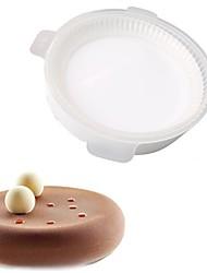 Недорогие -Инструменты для выпечки кремнийорганическая резина Своими руками Для торта Круглый Формы для пирожных 1шт