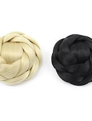 Недорогие -Инструмент для волос Античный Булочка для волос Для вечеринок / Женский Искусственные волосы Волосы Наращивание волос Античный Темно-коричневый / темно-рыжий / Каштановый / Bleach Blonde