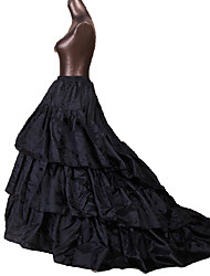 Недорогие -Queen Принцесса Костюм для вечеринки Винтаж Косплей Лолита Черный Нижняя юбка