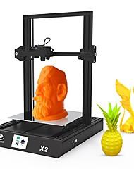 Недорогие -huaxu3d x2 размер печатания принтера 3D 300mm * 300mm * 400mm 0.4 новая конструкция / многофункциональное