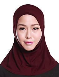 Недорогие -Жен. Классический Хиджаб - Многослойность Однотонный