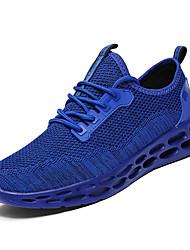 זול -בגדי ריקוד גברים נעלי נוחות Tissage וולנט אביב יום יומי נעלי אתלטיקה הליכה נושם שחור / אדום / כחול