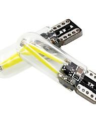 Недорогие -2pcs T10 Мотоцикл / Автомобиль Лампы 2 W COB 150 lm 2 Светодиодная лампа Лампа поворотного сигнала Назначение Универсальный