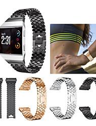 Недорогие -Ремешок для часов для Fitbit ionic Fitbit Спортивный ремешок Нержавеющая сталь Повязка на запястье