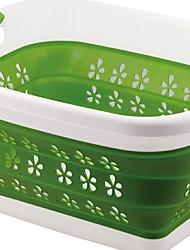 levne -Plastický Obdélníkový Nový design / Cool Domov Organizace, 1ks Koš na prádlo
