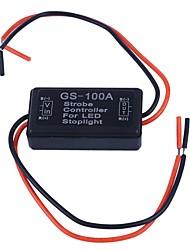 Недорогие -Ziqiao автомобиль 12 В gs-100a светодиодный стоп-сигнал стробоскоп мигает контроллер коробка