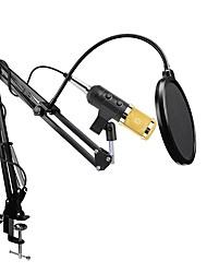 Недорогие -KEBTYVOR BM900 Поликарбонат / Проводное Микрофон Микрофон Конденсаторный микрофон Микрофон с клипсой Назначение Компьютерный микрофон