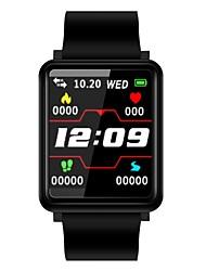 abordables -Indear F1 Bracelet à puce Android iOS Bluetooth Elégant Sportif Imperméable Moniteur de Fréquence Cardiaque Podomètre Rappel d'Appel Moniteur d'Activité Moniteur de Sommeil Rappel sédentaire