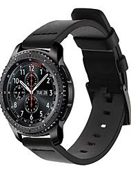 Недорогие -Ремешок для часов для Gear S3 Frontier / Gear S3 Classic Samsung Galaxy Спортивный ремешок / Классическая застежка Кожа Повязка на запястье