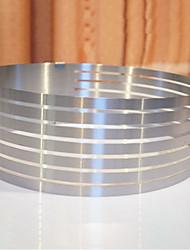 cheap -1pc Stainless steel Creative Kitchen Gadget Cake Kitchen Round Dessert Tools Bakeware tools