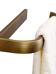 abordables -Barre porte-serviette Design nouveau Moderne Laiton 1pc - Salle de Bain anneau de serviette Montage mural
